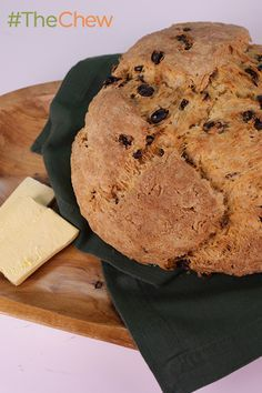 A member of the Chew crew shows you how to make his handed down recipe for Irish Soda Bread!