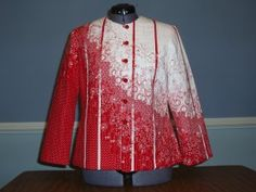 Bargello Jackets - Student Gallery. Love this jacket!!!!!!