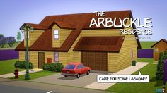 The Arbuckle Residence (Garfield's House) #Garfield #TheGarfieldShow #JonArbuckle #Arbuckle #Odie #Cartoon #Sims #TheSims #TheSims3 #DeSims #DeSims3 #Sims3Downloads #Sims3Houses #Sims3Huizen #SNW #snwgames #SimsNetwork #SimsNetwerk