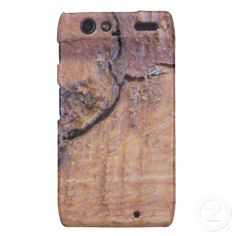 Wood Textures Droid RAZR Cover From Florals by Fred #gift #photogift #zazzle