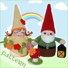 PDF Pattern - Happy Gnomes