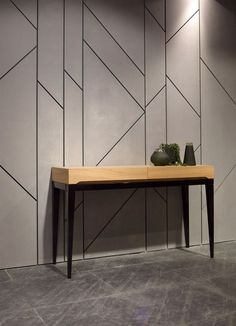 Cladding idea, could be used to hide utility door. Or could be used on the 'box' element in your master suite which has your ensuite in. Decor, Wall Decor Design, Interior, Interior Wall Design, Feature Wall Design, Interior Walls, Home Decor, Wall Paneling, Wall Cladding Interior