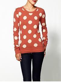 I loves me a polka dot! - THML Clothing Polka Dot Pullover