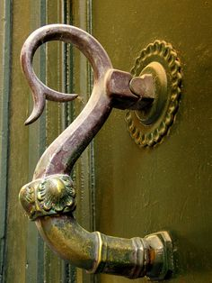 Bronze knocker, Spain