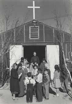 Catholic Church, Manzanar Relocation Center, California