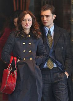 Leighton Meester Ed Westwick Photos: 'Gossip' at the Empire Hotel