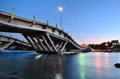 This bridge always surprises me - La Barra, Uruguay
