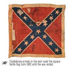 Confederate flag history  (Rebel Flag)