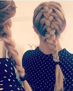 braided hair long - braid