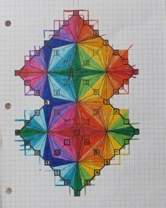 colors of the rainbow with numbers on a clock in infinity shapes within an infinity shape connecting of light Infinity Symbol, Mirror Image, Music Notes, Rainbow Colors, Surrealism, Numbers, Clock, Shapes, Thoughts