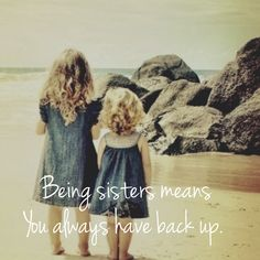Top Inspiring Quotes about Sisters & best sister quotes sweets Cute Sister Quotes, Little Sister Quotes, Sister Birthday Quotes, Love My Sister, Best Sister, Little Sisters, To My Daughter, Beautiful Sister Quotes, Daughters