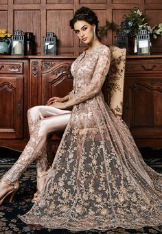 Buy Beige Embroidered Anarkali Suit Embroidered anarkali suit Online Shopping: Buy Beige Embroidered Anarkali Suit online, SKU Code: This Beige color Party anarkali suit for Women comes with Embroidered Net. Muslim Wedding Dresses, Pakistani Bridal Dresses, Pakistani Outfits, Indian Dresses, Bridal Anarkali Suits, Pakistani Fashion Party Wear, Pakistani Clothing, Asian Wedding Dress, Indian Bridal Lehenga