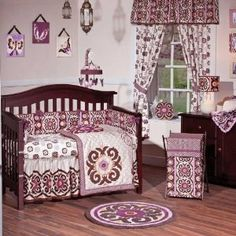 For baby girl's room--just the bedding. Not all the other froofy stuff.