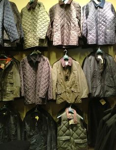 We may be a small company, but we are proud to have the largest inventory of #Barbour in the US!