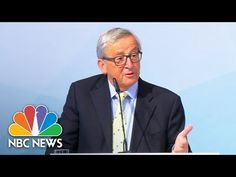 President Donald Trump's Understanding Of Paris Climate Deal Mocked In E...