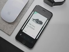 Shopping Cards by Oliur—The Best iPhone Mockups → store.ramotion.com