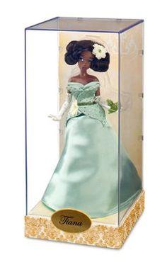 Disney Store Princess Designer Collection Princess & The Frog Tiana Doll Bag NEW Black Disney Princess, Disney Princess Fashion, Disney Princess Dolls, Princess Tiana, Disney Princesses, Tiana Disney, Cute Disney, Disney Barbie Dolls, Barbie 2000