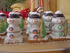 Schneemänner (Rezept mit Bild) von Toffi-Fee | Chefkoch.de