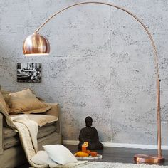 RIESIGE DESIGNER BOGENLAMPE BIG ARC PRO Stehlampe Dimmbar Mit Dimmer Weiss