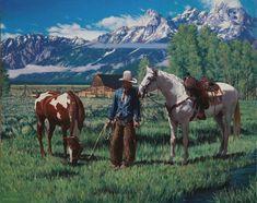 Pure morning in Wyoming. Oil on linen. 24×30″. 2014. ( SOLD ) | Mark Maggiori