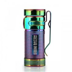 Hearty Mini Led Flashlight Light Bulb Rainbow Colors Keychain Key Ring Lamp Torch Gift Great Value Be Shrewd In Money Matters Lights & Lighting