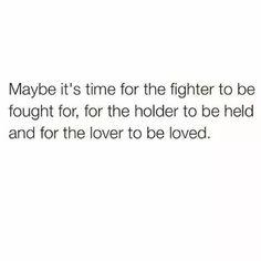 I agree. Its definitely time.