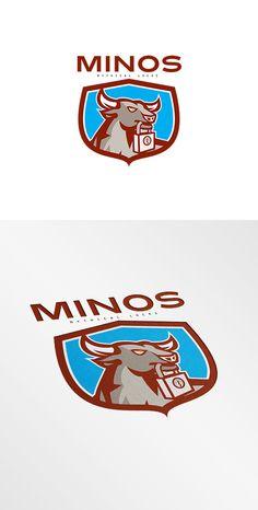 Minos Locks Logo ~ Logo Templates on Creative Market