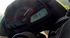 2013 Kawasaki Ninja 300 does a 191 kmph - video