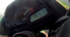 2013 Kawasaki Ninja 300 does a 191 kmph - video