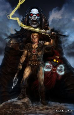 Masters of the Universe Artwork | Thread: Creatures and comic book Art...(warn nudity) Up01p2p3