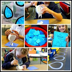 hands-on activities for a weather unit-- LOVE!