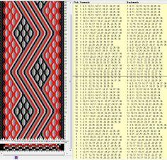 38 tarjetas, 4 colores, repite cada 28 movimientos // sed_287 diseñado en GTT༺❁