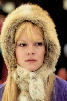 Vartan Sylvie, Mod Girl, Iconic Women, Mannequins, Fur Coat, Winter Hats, Teen, Celebs, Singer