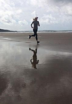 Run on the beach.