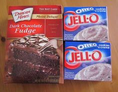 Oreo poke cake:)