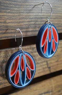 Paper Earrings / The Perfect 1st Anniversary Gift Rogue Theory puts a twist on…