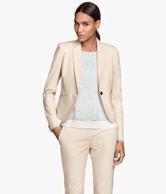 H&M Figure-fit jacket $39.95
