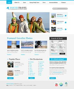 Find out Best Travel Web Designs at http://websiteonlinesolution.com/portfolio-types/travel/