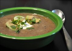 Warming Up the Winter With Black Bean and Sweet Potato Soup