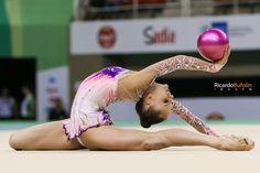 Veronica Bertolini - ITA | Rhythmic Gymnastic  #fig #cbg #cob #canon #cpscanon #longines #italia #italy #ita #roma #gymnastics #gimnasia #ginastica #ritmica #rhythmic #ball #bola #rio2016 #olympic #games #sportphotography #veronica #bertolini