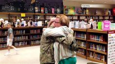 Reservist's heartwarming homecoming goes viral