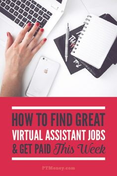 Want to be a virtual assistant? This article tells you what it takes and how to find a quality virtual assistant job. You can do most of these jobs from home! Its perfect for stay at home moms and dads. - The Best of Diy Ideas Earn Money Online, Online Jobs, Work From Home Jobs, Make Money From Home, Ways To Save Money, How To Make Money, Virtual Assistant Services, Apps, Motivation