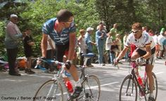 Lance Armstrong's THE LOOK .... bike race