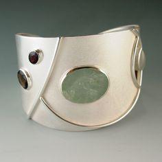 Cuff bracelet by Janis Kerman