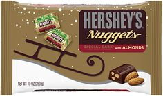 Share simple happiness with festive HERSHEY'S NUGGETS SPECIAL DARK Dark Chocolate in new holiday packaging. Wrapped in festive gold foil, these bite-size treats will light up your candy dish and make a perfect stocking stuffer.