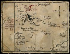 the hobbit map - Google Search