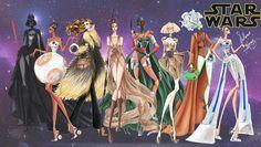 Personagens pop em ilustrações de moda de Guillermo Meraz - Just Lia | Por Lia Camargo