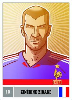 Zidane (Football Heroes/Fussballhelden)