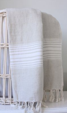 Fouta. I wish Americans used these towels/cloths/wraps/blankets more.