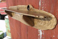 Driftwood Shelf - Texture and style  - rustic cabin decor wooden shelf - nautical decor shelf - by Driftinn on Etsy